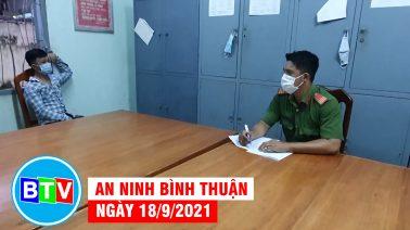 An ninh Bình Thuận   18.9.2021