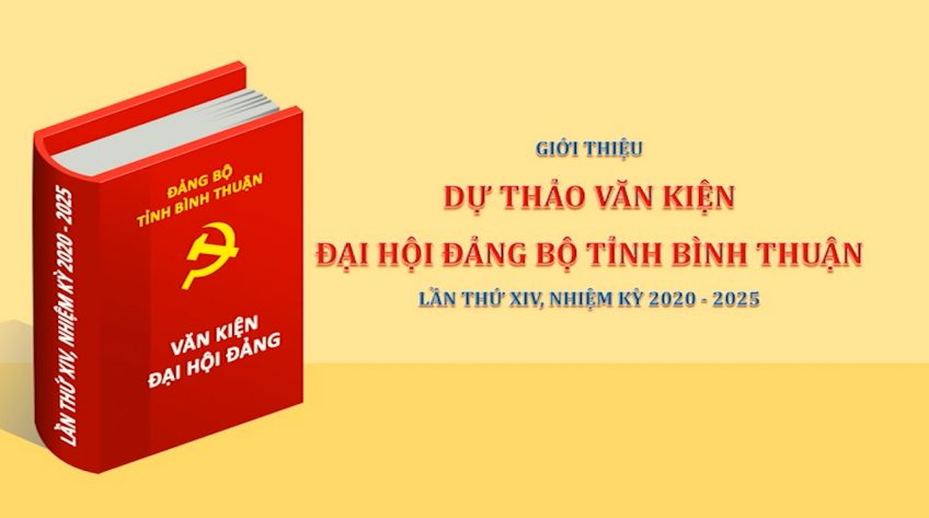 Giới thiệu dự thảo văn kiện Đại hội Đảng bộ tỉnh Bình Thuận lần thứ XIV, nhiệm kỳ 2020 - 2025 : Phần số 13